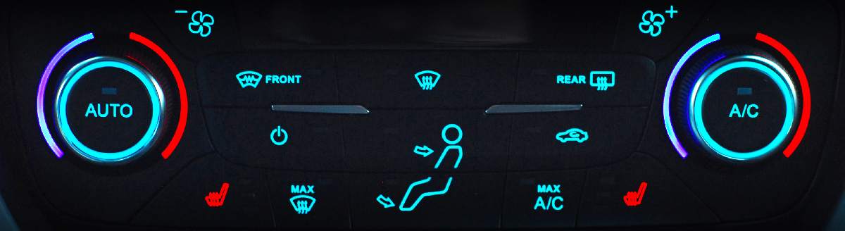a/c push button - Car Air Conditioning Ashby